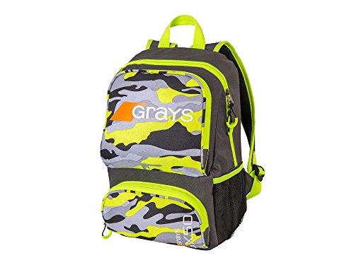 Grays GX50 Mochila Camo Amarillo (2018/19), Camo Yellow