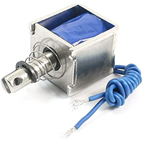 JF-0826DC6V 1A 150g 10mm tipo de tracción marco abierto electroimán solenoide