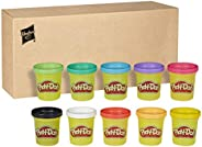 Play-Doh 10-Pack of Non-Toxic Modeling Compound, 2-Ounce Cans