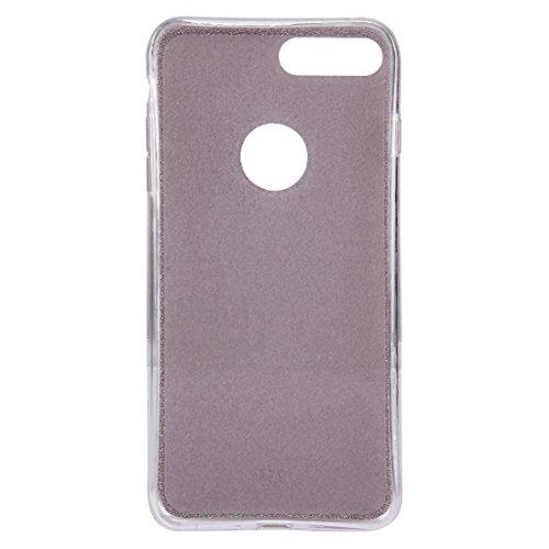 Hülle für iPhone 7 plus , Schutzhülle Für IPhone 7 Plus Glitter Powder Soft TPU Schutzhülle ,hülle für iPhone 7 plus , case for iphone 7 plus ( Color : Rose gold ) Rose gold