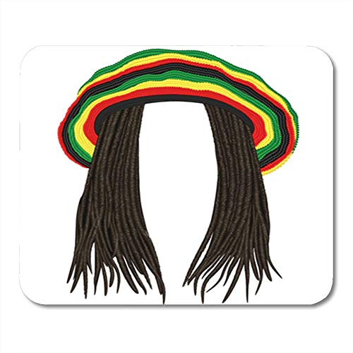 orful Wig Jamaican Rasta Hat Hair Dreadlocks Reggae Funny Avatar Rastafarian Cap 11.8