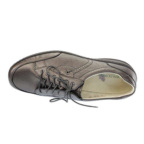 Rôdeur chaussures confortables cuir, amovible, keil lederfußbett 30 mm schiefer