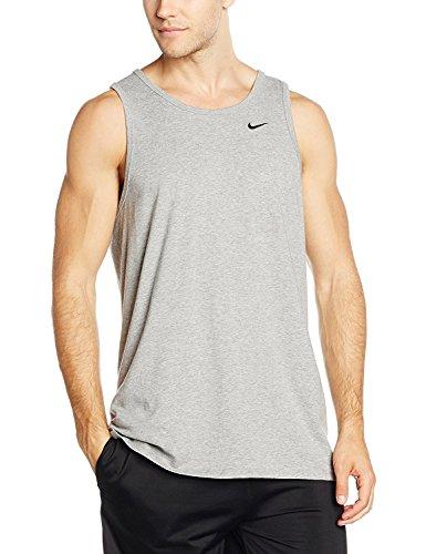 cb8cd5d81fd7d Nike Mens Embroidered Swoosh Tank Top (XX-Large, White, Black)
