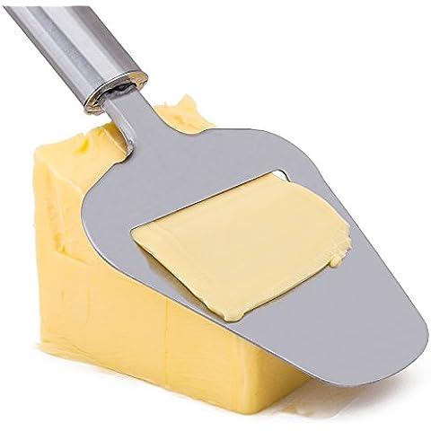 Affetta formaggio in acciaio inossidabile di alta qualità Piano Cutter perfetta fette torta patate verdura coltelli da cucina gadget