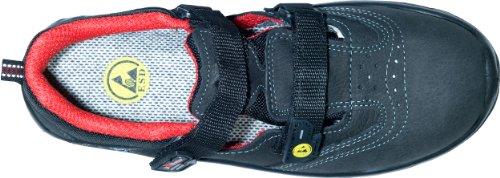 U POWER  ANDREE, Chaussures de sécurité pour homme Noir/rouge