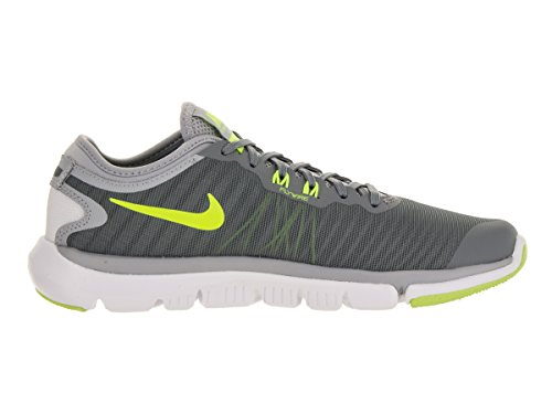 Nike Damen Wmns Flex Supreme TR 4 Gymnastikschuhe Cool Grey/Pure Platinum/White/Volt