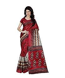 Trendz Taffeta Silk jigjag Print Saree(TZ_1030_C)