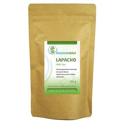Lapacho INKA Tee (100g) [Wildsammlung - Innere Rinde] Tausendkraut