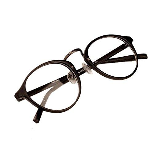 Valcatch Half Frame Round Decrotive Brillen Herren Damen Brillen