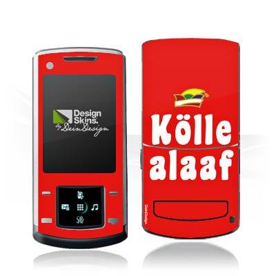 DeinDesign Samsung U900 Soul Case Skin Sticker aus Vinyl-Folie Aufkleber Köln Karneval Fasching (Köln Soul)