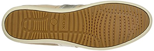 Geox D Myria A, Sneakers Basses Femme Beige (Skinc8182)