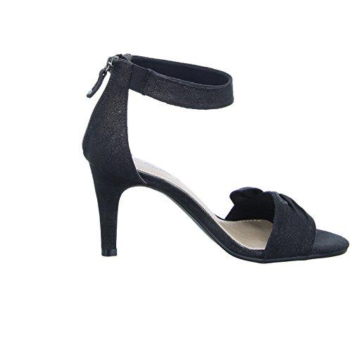 s.OliverDamen Sandalette 55 28350 - Pantofole a Stivaletto Donna nero (nero)