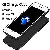 Hoidokly Récepteur de Chargeur sans Fil QI Coque Charge iPhone pour iPhone 7/ iPhone 6s/ iPhone 6-4,7 Pouces