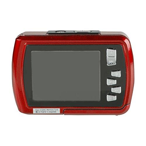 Istantaneo-impermeabile-subacquea-condivisione-fotocamera-digitale-Polaroid-IS048-16MP-impermeabile-fino-a-10-piedi-schermo-da-24-pollici-Rosso