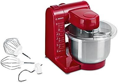 Bosch MUM44R1 - Robot de cocina, 500 W, capacidad 3,9 l, color rojo