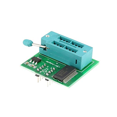 Kaemma 1,8 V-Adapter für iPhone Motherboard 1,8V SPI-Flash-Speicher SOP8 DIP8 W25 MX25 Programmierer Telefon Reparieren Elektronik DIY Tools (Farbe: grün)