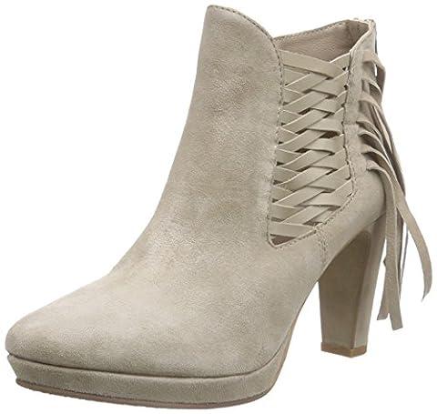 SPM Matador Ankle Boot, Bottes Classics courtes, doublure froide femme - Beige - Beige (Beige 009/Beige 009), 39