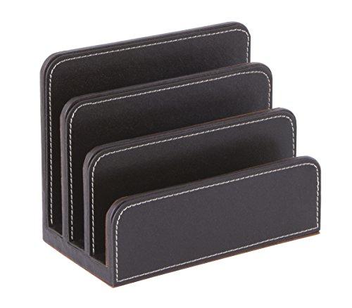 Osco BPULH1 Luxus Faux Leder, Büromaterial-Bürobedarf, braun