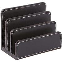 Osco BPULH1 - Soporte para cartas de elegante, color marrón
