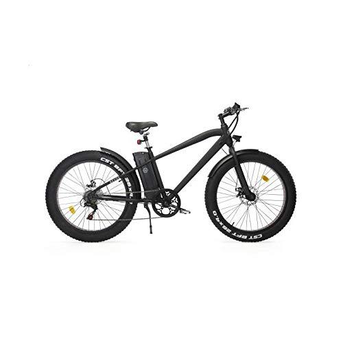 REVOE 552032 Fat, Bici Elettrica Unisex - Adulto, Nero, Unica