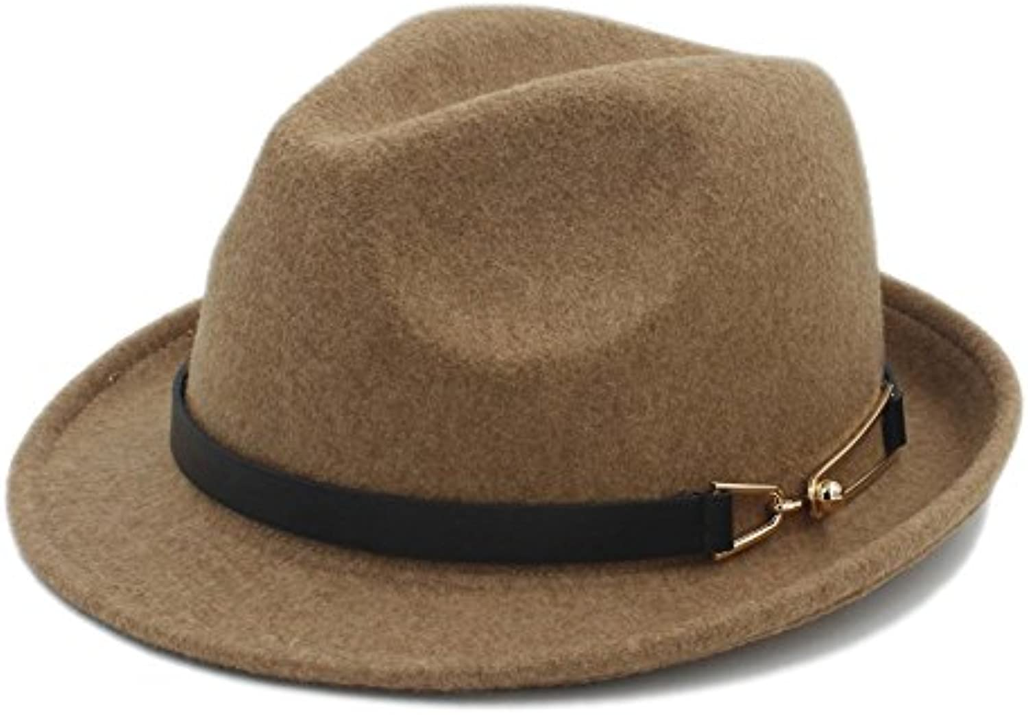 HYF Cappello in Feltro per Donna Chapeau Femme Cappello in Lady Fedora  Gentleman Sombrero cap Elegante Lady in Trilby... Parent 7bba24 9c0fbb5a5121