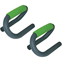 Schildkröt Fitness PUSH UP BARS, 2 Liegestützengriffe, (grey-green), 960040