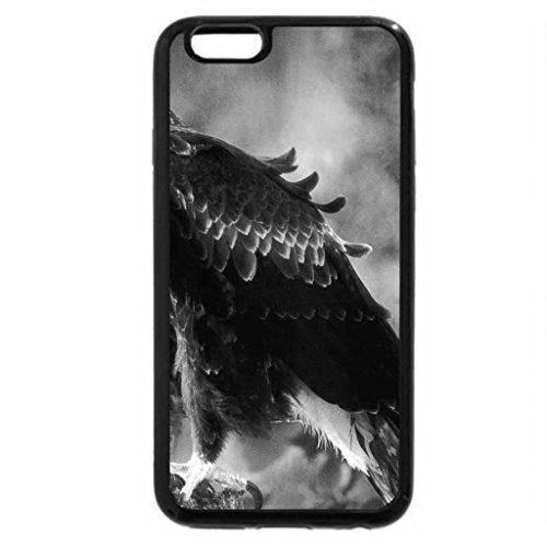 iPhone 6S Plus Case, iPhone 6 Plus Case (Black & White) - Wedge-Tailed-Eagle (White-tailed Eagle)