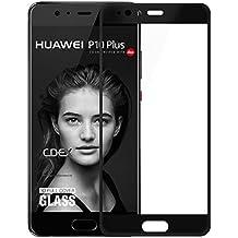 Huawei P10 Plus Pellicola Protettiva, doupi 3D FullCover Premium 9H vetro temperato HD protezione dello schermo Touch Screen Protector Tempered Glass, nero