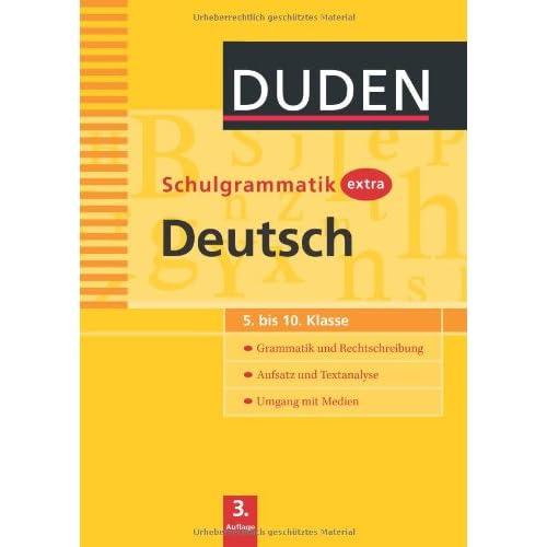 PDF] Duden Schulgrammatik extra. Deutsch: 5. bis 10. Klasse ...
