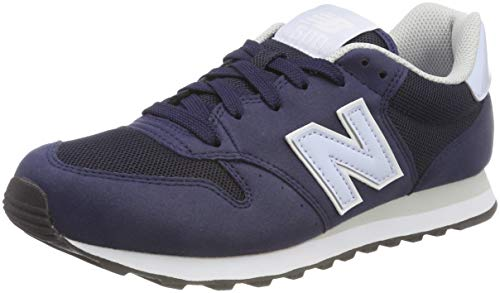 New Balance 500, Scarpe Sportive Donna, Blu (Navy/Light Blue Pt), 40.5 EU