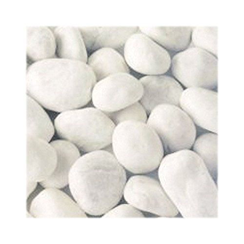 Weißer Marmorkies 25 kg Zierkies Ziersplitt Deko Marmor Dekoration Splitt NEU