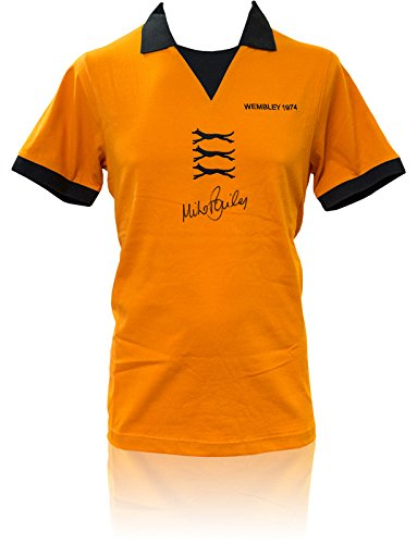 SALE-20-OFF-RRP-GUARANTEED-AUTHENTIC-SRS-039-HAND-SIGNED-SHIRT-WOLVES-1974-MIKE-BAILEY-COA