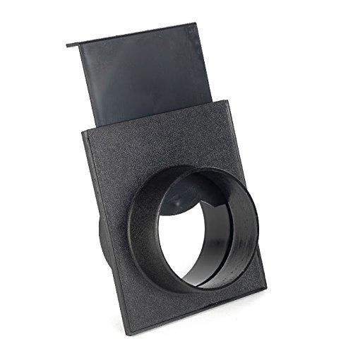 Absperrschieber für Absauganlagen 100 mm