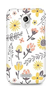 Amez designer printed 3d premium high quality back case cover for Micromax Canvas HD A116 (Field of flowers)