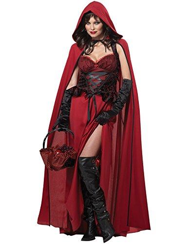 Sexy Horror Rotkappchen Kostum Halloween Marchen Karneval