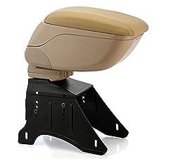 SAT Car Multipurpose and Useful Armrest Beige
