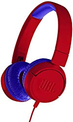 JBL JR300 Kids On-ear Headphones (Spider Red)