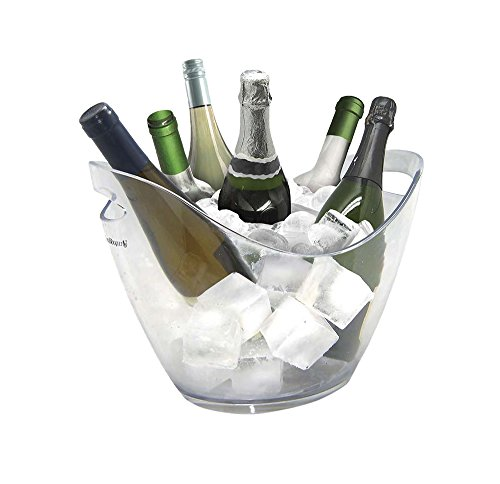 Vin Bouquet Cubitera Transparente 6 Botellas