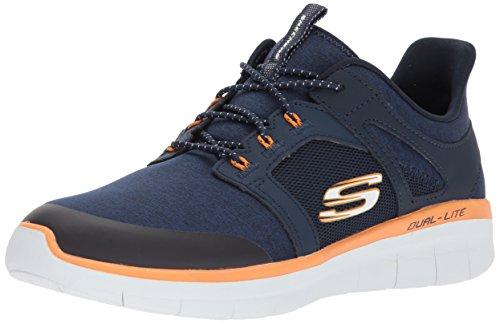 L'uomo Blu Sneaker Skechers Bkw 52652 FqRPTP