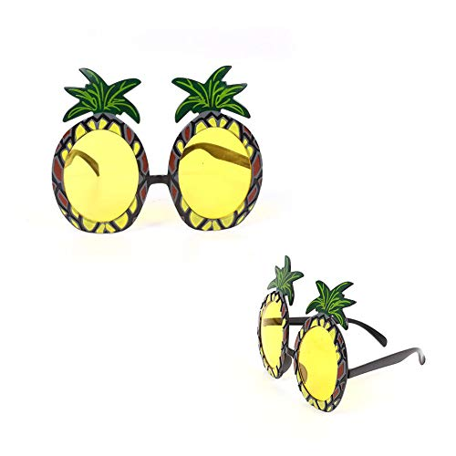 Fashion Style Ananas Brille Delicated Hawaii Themed Brillen für Männer und Frauen Foto Props Party (Tourist Kostüm Frauen)