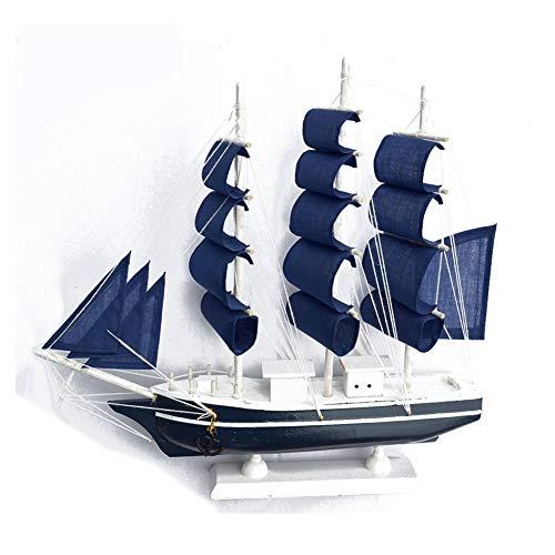 Guvd Modello di Barca a Vela, Realistico Veliero Artigianato in Legno Decorativo Decorazione da Tavolo Ornamento Corsair