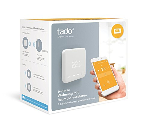 tado° Smartes Thermostat Starter Kit für Wohnungen mit Raumthermostat (v3) – intelligente Heizungssteuerung per Smartphone - 2