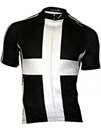 f9b043d23 Scimitar Sports Cornwall Cycle Jersey-Black White