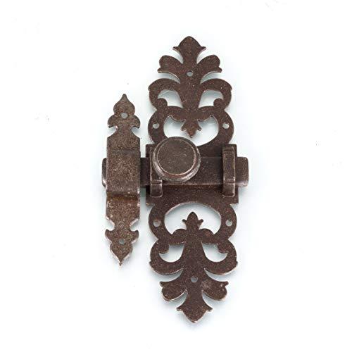 Antikas - Schieberiegel Türbeschlag als Antik - Verschluss für Gartentor oder Stall