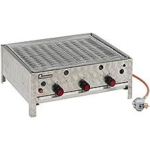 Landmann 00442M - Barbacoa de gas (3 termostatos, 9 tubos quemadores, 63 x 53 cm)