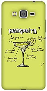 The Racoon Grip Lime Margarita hard plastic printed back case / cover for Samsung Galaxy Grand Prime