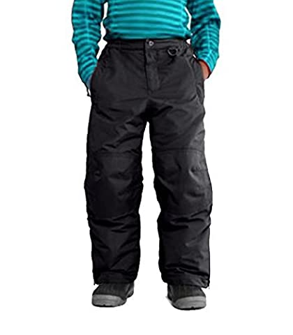 Lands End Squall Ski Pants Snow Board Waterproof Thermal Trousers Salopettes (Navy Blue, 14 Years)