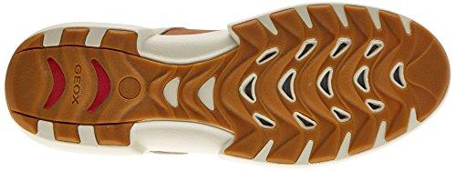 Geox Herren U Traccia B Sneaker Grau (Papyrus)