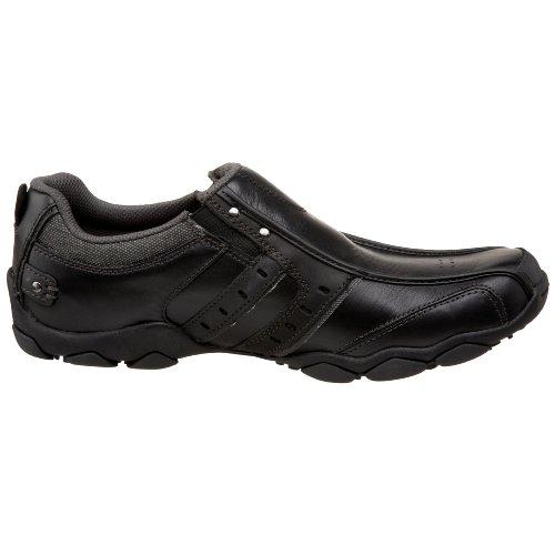 Skechers Diameter, Chaussures de ville homme Noir - Noir