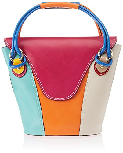 Chicca Borse 9144, Sac à main pour femme Multicolore Multicolore (Mix)